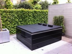 Lounge Concept III Inox_Black